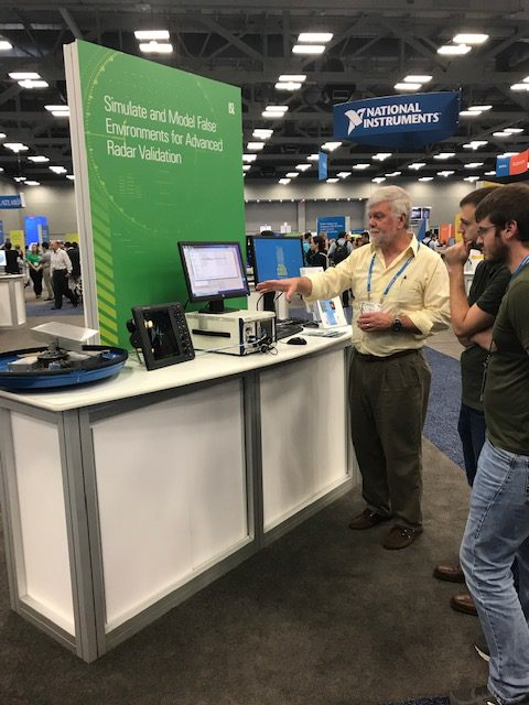 RTEMES featured in the demo pavilion at NIWeek 2019!