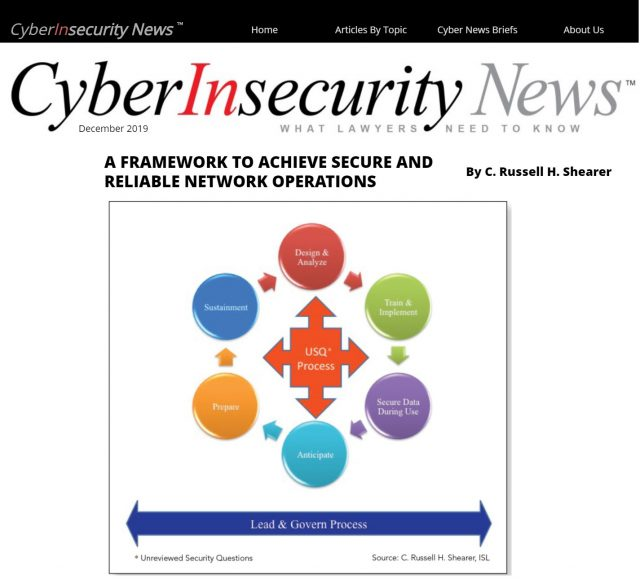 ISL Writes Framework for Secure & Reliable Network Operations